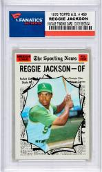 JACKSON, REGGIE (1970 TOPPS A.S. # 459) CARD - Mounted Memories
