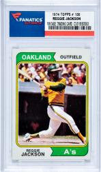 Reggie Jackson Oakland Athletics 1974 Topps #130 Card