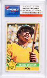 Reggie Jackson Oakland Athletics 1976 Topps All-Star #500 Card