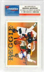 Reggie Jackson New York Yankees Autographed 1990 Upper Deck #9 Card