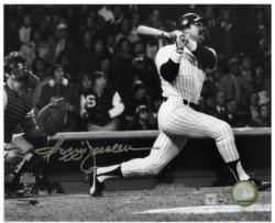 "Reggie Jackson New York Yankees Autographed 8"" x 10"" Horizontal Hitting Photograph"