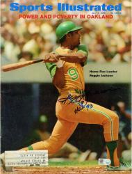 Reggie Jackson New York Yankees Autographed Power Oak Sports Illustrated with HOF 93 Inscription