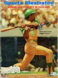 Reggie Jackson Oakland Athletics Autographed Power in Oakland Sports Illustrated