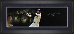 "Reggie Jackson New York Yankees Framed Autographed 10"" x 30"" Filmstrip Photograph"