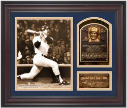 Reggie Jackson New York Yankees Framed Hall of Fame Milestones & Memories Photograph with Facsimile Signature