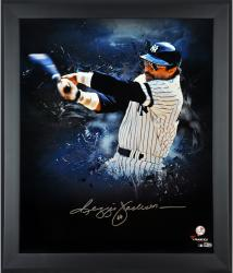 Reggie Jackson New York Yankees Framed Autographed 20'' x 24'' In Focus Photograph-Limited Edition of 24 - Mounted Memories