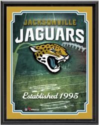 "Jacksonville Jaguars Team Logo Sublimated 10.5"" x 13"" Plaque - Mounted Memories"