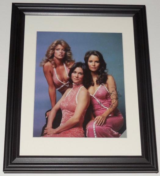 Jaclyn Smith Autographed 8x10 Color Photo (framed & Matted) - Charlie's Angels!
