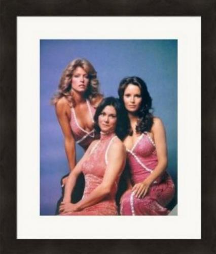 Jaclyn Smith autographed 8x10 Photo (Charlies Angels) #SC3 Matted & Framed