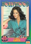 Jaclyn Smith autographed trading Card (Charlies Angels) 1991 Hollywood Walk of Fame #182