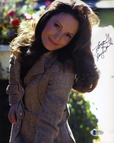 JACLYN SMITH BAS BECKETT Coa Hand Signed 8x10 Photo Autograph Authentic
