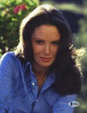 JACLYN SMITH BAS BECKETT SIGNED CHARLIES ANGELS 8x10 PHOTO AUTHENTIC AUTOGRAPH