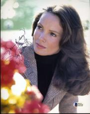 JACLYN SMITH CHARLIES ANGELS Hand Signed BAS BECKETT 8x10 Photo Autograph