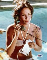 JACLYN SMITH CHARLIES ANGELS Hand Signed PSA DNA COA 8x10 Photo Autographed
