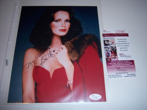 Jaclyn Smith Charlies Angels Jsa/coa Signed 8x10 Photo