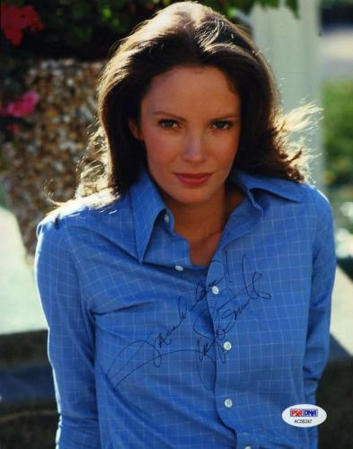 Jaclyn Smith Charlies Angels Psa/dna Signed 8x10 Photo  Authentic Autograph