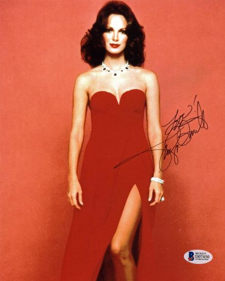 Jaclyn Smith Charlie's Angels Sexy Signed 8x10 Photo BAS #D07450