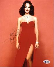 Jaclyn Smith Charlie's Angels Signed 8X10 Photo BAS #C18603