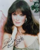 JACLYN SMITH HAND SIGNED 8x10 COLOR PHOTO+COA     CHARLIE'S ANGELS      TO DAVID