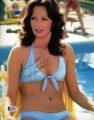 JACLYN SMITH Hand Signed BAS BECKETT 8x10 Photograph Autographed Authentic