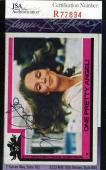 JACLYN SMITH Hand Signed JSA Topps Charlies Angels Card 26 Autographed Authentic
