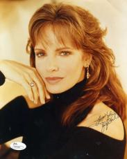 Jaclyn Smith Jsa Cert Hand Signed 8x10 Photo Authenticated Autograph