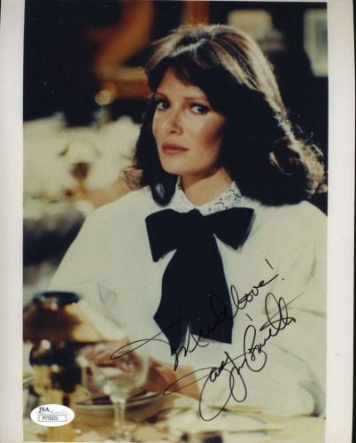 Jaclyn Smith Jsa Coa Hand Signed 8x10 Photograph Authenticated Autograph