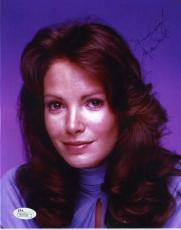JACLYN SMITH JSA COA SIGNED CHARLIES ANGELS 8x10 PHOTO AUTHENTICATED AUTOGRAPH