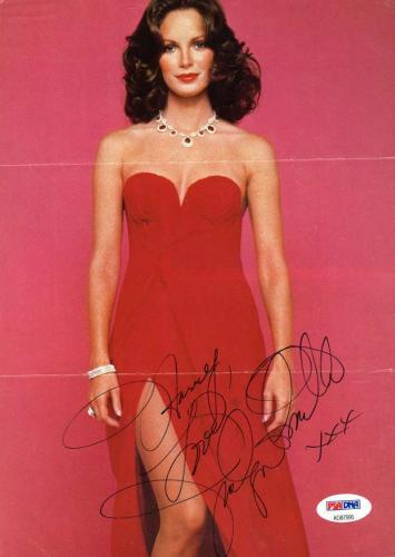 JACLYN SMITH PSA DNA Charlies Angels Hand Signed 8x10 Photo Autograph Authentica