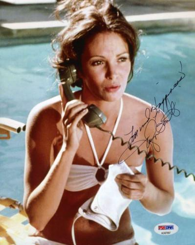 JACLYN SMITH PSA DNA Charlies Angels Signed 8x10 Photo Autograph Authentic