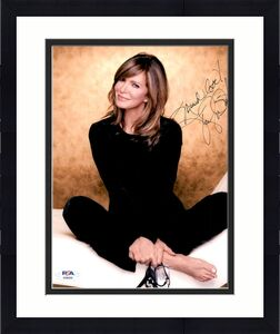 Jaclyn Smith PSA DNA Coa Hand Signed 8x10 Photo Autograph
