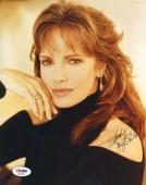 JACLYN SMITH PSA DNA Coa Hand Signed 8X10 Photo Autograph Authenticated