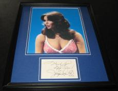 Jaclyn Smith SEXY Facsimile Signed Framed 11x14 Photo Display Charlie's Angels