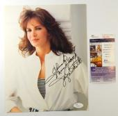 Jaclyn Smith Signed 8 x 11 Color Photo JSA Auto DM76727