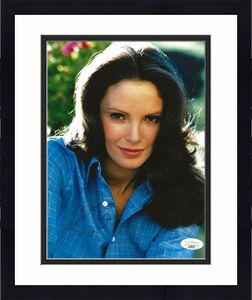 Jaclyn Smith signed Charlie's Angels 8x10 photo autographed Kelly Garrett 4 JSA