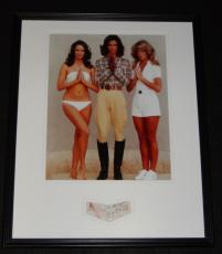 Jaclyn Smith Signed Framed 16x20 Photo Display JSA Charlie's Angels w/ cast
