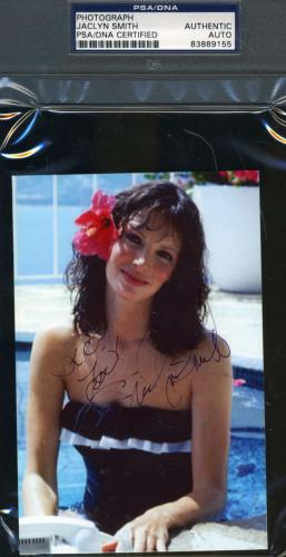 Jaclyn Smith Signed Psa/dna Certified Photo Authentic Autograph