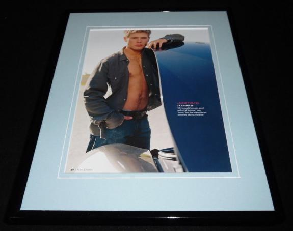 Jacob Young as JR Chandler Framed 11x14 Photo Display All My Children