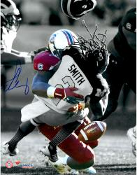 Jadeveon Clowney South Carolina Gamecocks Autographed 11'' x 14'' Spotlight Photograph - Mounted Memories