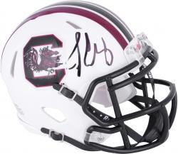 Jadeveon Clowney South Carolina Gamecocks Autographed Riddell Mini Helmet - Mounted Memories