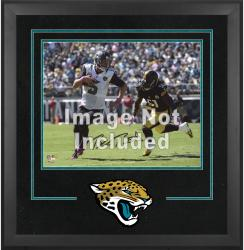 Jacksonville Jaguars Deluxe 16'' x 20'' Horizontal Photograph Frame with Team Logo - Mounted Memories