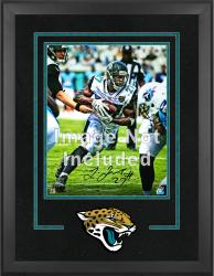 Jacksonville Jaguars Deluxe 16'' x 20'' Vertical Photograph Frame with Team Logo - Mounted Memories