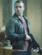 """Jai Courtney Autographed 8"""" x 10"""" A Good Day to Die Hard Gun Photograph - Beckett COA"""