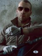"""Jai Courtney Autographed 8"""" x 10"""" A Good Day to Die Hard Look at Watch Photograph - Beckett COA"""
