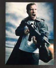 JAI COURTNEY SIGNED AUTO TERMINATOR GENISYS KYLE REESE 8x10 PHOTO W/ PROOF COA