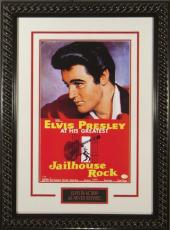 Jailhouse Rock unsigned 20x28 Masterprint Vintage Poster Custom Rope Framed w/ Elvis Presley (entertainment/photo)