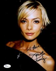 Jaime Pressly Jsa Coa Hand Signed 8x10 Photo Authenticated Autograph