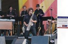 Jake Clemons Bruce Springsteen E Street Band Signed 11x14 Photo PSA DNA COA