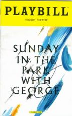 Jake Gyllenhaal autographed Broadway Playbill Sunday in the Park with George