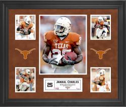 Jamaal Charles Texas Longhorns Framed 5-Photo Collage